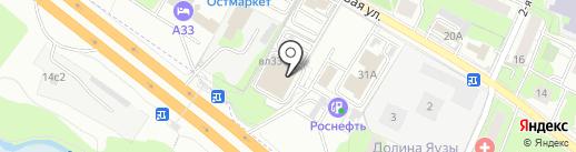 АмпирЪ на карте Мытищ