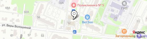 Банкомат, Энерготрансбанк на карте Мытищ