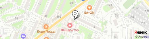 Магазин цветов на карте Видного