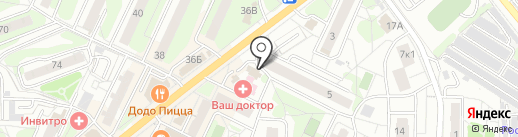 Тамада на карте Видного