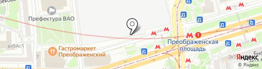 World of Quests на карте Москвы