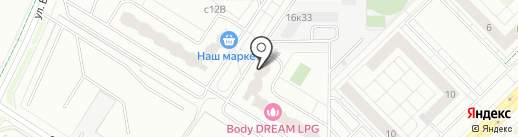 АВЕТ на карте Мытищ