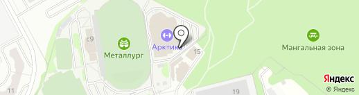 Наш Хоккей на карте Видного