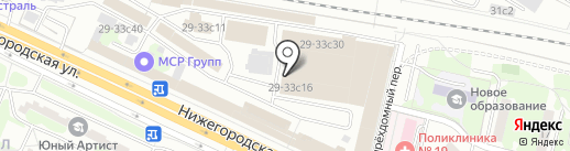 Piniolo на карте Москвы