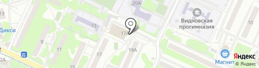 Видновское на карте Видного