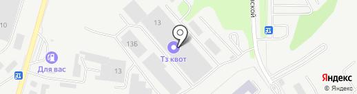 Оскар на карте Тулы