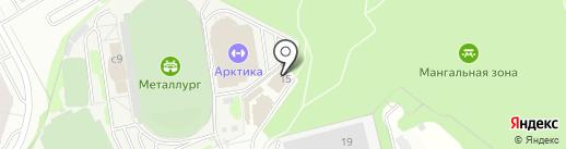 Лесной на карте Видного