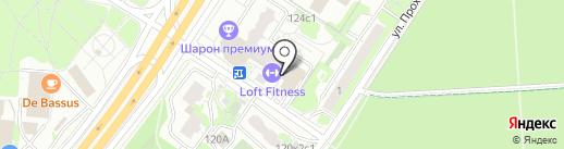 Loft Fitness на карте Москвы