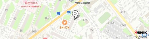 Банкомат, Сбербанк России на карте Видного