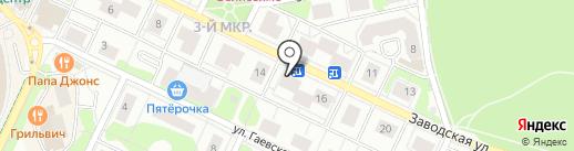 Одержимость на карте Видного