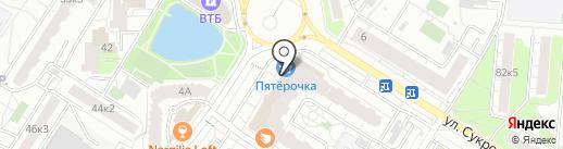 Калейдоскоп на карте Мытищ