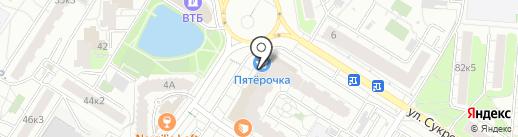 А-мега на карте Мытищ