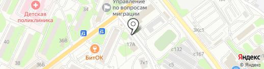 Ермолино на карте Видного