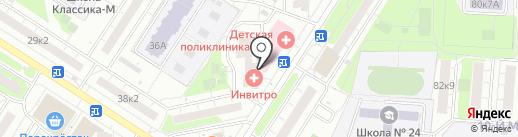 Astoria на карте Мытищ