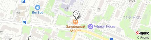 Загородный Дворик на карте Мытищ