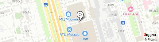 АвтоКрепежЦентр на карте Москвы
