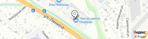 Автотехцентр на карте Новороссийска