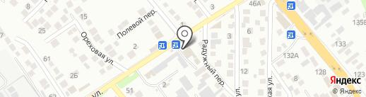 Натали на карте Новороссийска