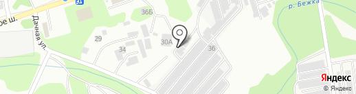 Р-Сфера на карте Тулы