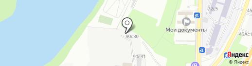 Торгово-сервисный центр на карте Москвы