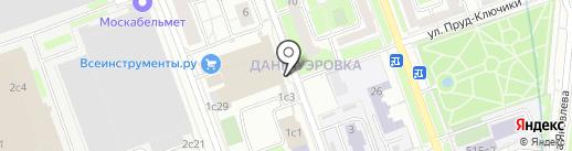 Студия Анны Ключко на карте Москвы