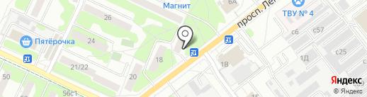 Энергия, МКУ на карте Видного