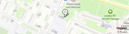 Детский сад №3, Теремок на карте Видного