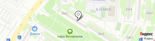 Участковый пункт полиции на карте Мытищ