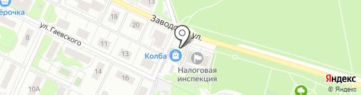 Старт Полюс на карте Видного