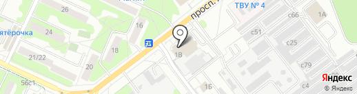 Магазин хлебобулочных изделий из тандыра на карте Видного