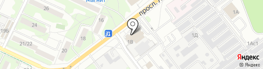 Банкомат, Сбербанк, ПАО на карте Видного