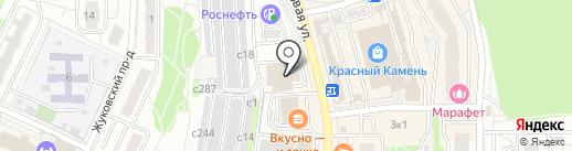 Видное Моторс на карте Видного