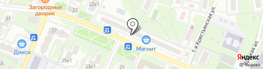 Центр бытовых услуг на карте Мытищ