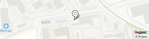 Форс Дизель Сервис на карте Совхоза имени Ленина