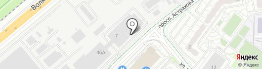 Новый Диван на карте Мытищ