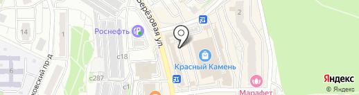 Лыковские пекарни на карте Видного