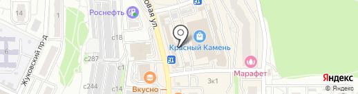 Магазин мясной продукции на карте Видного