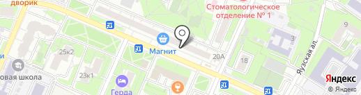 Сеть аптек эконом-класса на карте Мытищ