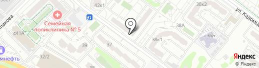 Магазин автозапчастей на карте Мытищ