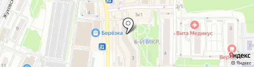 Гео-Сфера на карте Видного