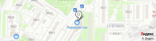 Фабрика Меха на карте Мытищ