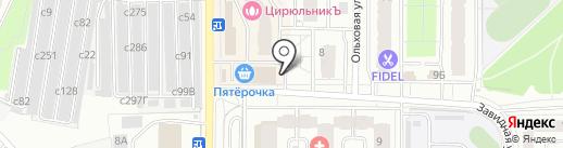 Роникон на карте Видного