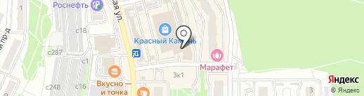 Автомойка на карте Видного