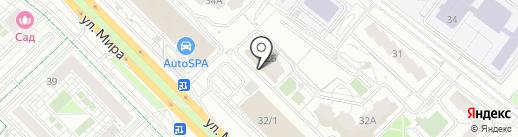 Мята Lounge на карте Мытищ