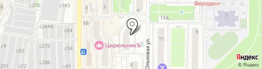 Исида на карте Видного