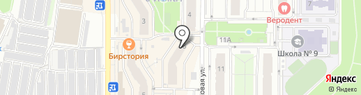 Золотая игла на карте Видного