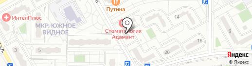 Магазин сантехники на карте Видного
