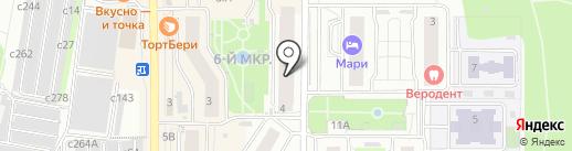 Бонжур на карте Видного