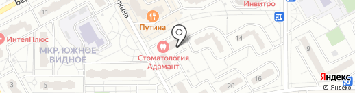 Лофт на карте Видного