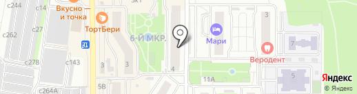 Манка на карте Видного